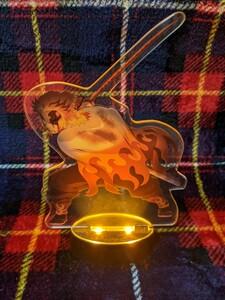 【鬼滅の刃】劇場版 無限列車編 ufotable 限定特典 心を燃やせアクリルスタンド 煉獄杏寿郎