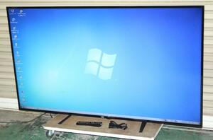 76212★NEC 65型LED液晶ディスプレイ E656 ① 【1円スタート!/フルHD/LEDバックライト搭載/ホームシアター/ホームワーク/純正リモコン付】