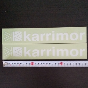 カリマー Karrimor カッティングロゴステッカー