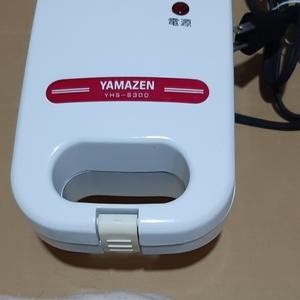 ホットサンドメーカー yamazen YHS-S300