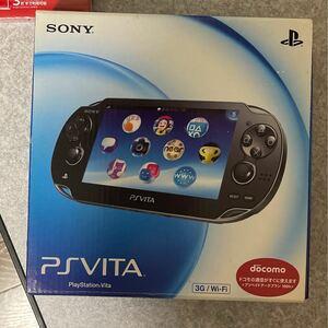 PS Vita PlayStation Vita Wi-Fiモデル SONY Wi-Fi クリスタ ルブラック 有機EL ブラック