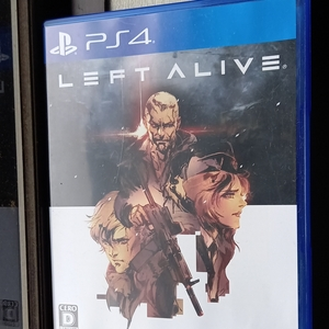 LEFT ALIVE PS4 アライヴ レフト ペルソナ5 PERSONA5 レフトアライブ PS4ソフト SQUARE ENIX