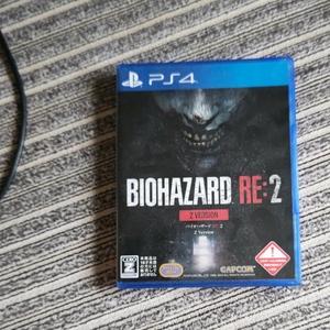 PS4 Version バイオハザードRE:2 BIOHAZARD Re: バイオハザードRE2 PS4ソフト