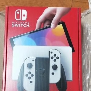 ニンテンドースイッチ Nintendo Switch 有機ELモデル ホワイト 新品未開封