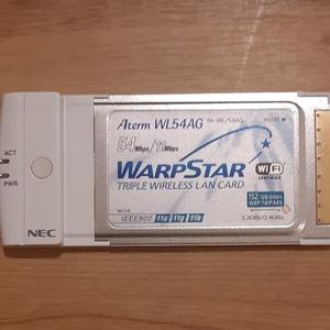 NEC 無線LANカード Aterm WL54AG 11a/g