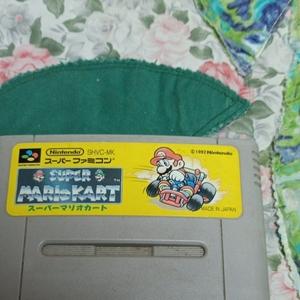 SFC スーパーマリオカート スーパーファミコンソフト スーパーファミコン マリオカート