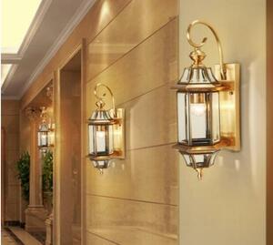 特売!品質保証 壁掛け照明 壁掛け灯 インテリア照明 玄関灯 .アンティーク 外灯 廊下 屋外 高級銅 未使用17000