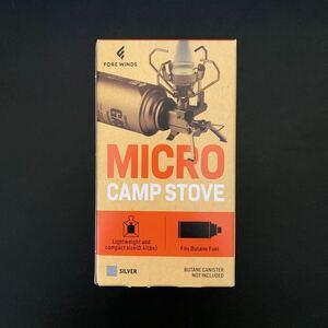 ★新品未使用★ FORE WINDS マイクロキャンプストーブ FW-MS01 マイクロ キャンプ ストーブ
