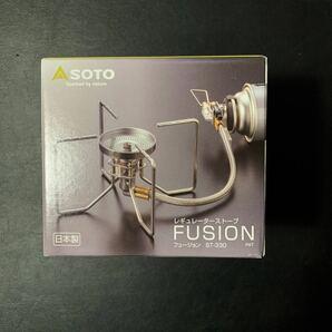 ★新品未使用★ SOTO(ソト) レギュレーターストーブ FUSION(フュージョン) ST-330