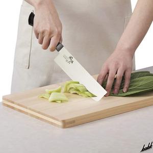 【野菜を切るのに最適な国産包丁】 菜切り包丁 日本製 ハイカーボンステンレス 特殊スキ加工 耐熱 耐久 耐錆 吸盤効果減少 料理 包丁