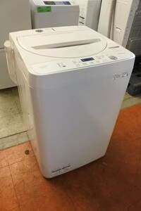 SHARP 20年式 ES-GE4E-C 4.5kg洗い 2.2kg簡易乾燥機能 単身サイズ エリア格安配達 10*2