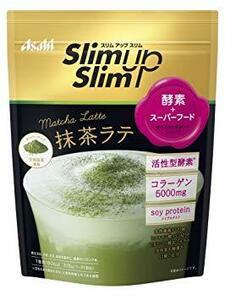 315g 1点 スリムアップスリム 酵素+スーパーフードシェイク 抹茶ラテ 315g アサヒグループ食品