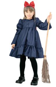 ハロウィンコスプレ キッズ 魔女 リボン ウィッチ 95133【TODサイズ】女の子 子供 コスチューム