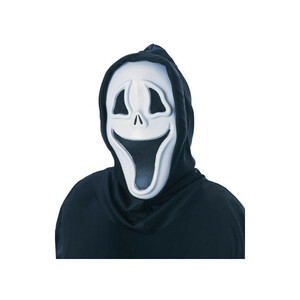 ハロウィン コスプレ ゴースト おばけ マスク 仮面 かぶりもの 変装 Smily Mask 仮装