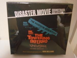 <新品・即決>DISASTER MOVIE SOUNDTRACK COLLECTION タワーリング・インフェルノ 、ポセイドン・アドベンチャー 、大地震