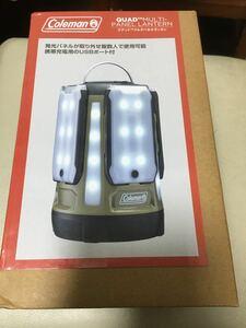 未使用★ Coleman LED クアッドマルチパネルランタン