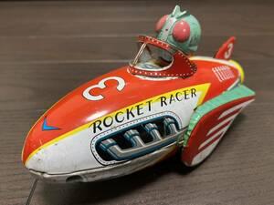 希少 昭和レトロ レーシングカー 日本製