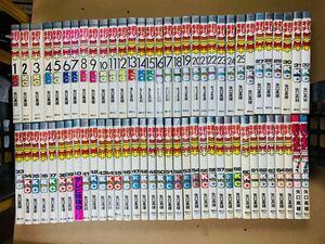全初版【釣りキチ三平 全65巻】矢口高雄 講談社 KCコミックス 49年初版・全巻 帯付き40巻 番外編付き 並上