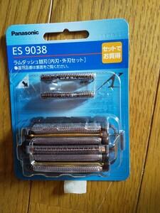 パナソニックラムダッシュ Panasonic 電気シェーバー 替刃ES9038