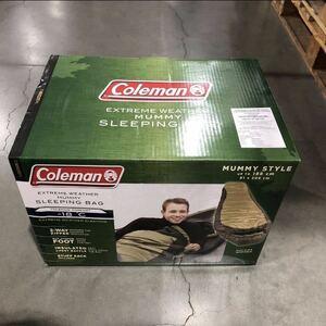 【送料無料★即決★新品未開封】 Coleman コールマン ノースリム 寝袋 EXTREME WHEATHER sleeping bag Mummy Style スリーピングバッグ