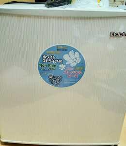 ☆1円~【ジャンク品】◆家庭用小型電気冷蔵庫『Elabitaxエラヴィタックス』ER-516(W)/2014年製/幅450mm奥行450mm高さ510mm/☆全国送料無料