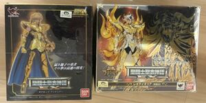 聖闘士聖衣神話EX レオアイオリア と        神聖衣版 レオアイオリア の 2体セット 聖闘士星矢 ゴールドセイント