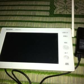 Panasonic 太陽光発電モニターディスプレイ VBPM370CKとACアダプター