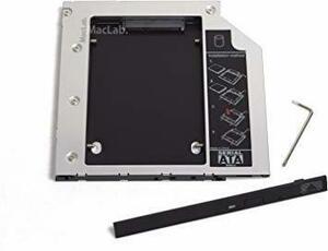 9.5mm厚 MacLab. 光学ドライブをHDDやSSDに置き換えるためのキット セカンドHDDアダプター (9.5mm厚のS