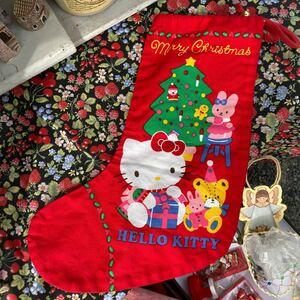 ハローキティ クリスマス 1987年 昭和レトロ 80年代 Hello Kitty 80's