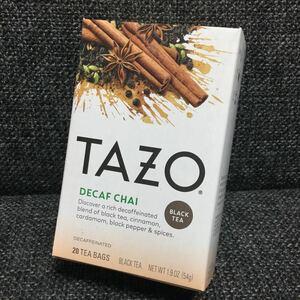 TAZO tea タゾ ティー ★デカフェ チャイ★紅茶