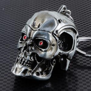 エンドスカル ダイキャスト ヘッド キーホルダー 新品 エンドスケルトン ターミネーター Terminator EndoSkeleton EndoSkull フィギュア