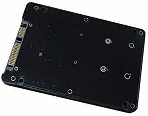 mSATA MINI PCI-E SSD→2.5インチ SATA3 変換アダプタ 7mm プラスチック ケース付き
