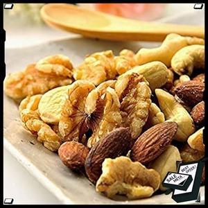 特別価格!【】 ナッツ 無塩 素焼き ミックスナッツ 1kg 無添加 健康を一番に考える 元気のたねKFV529N