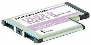 特別価格!玄人志向 NEXTシリーズ ExpressCard/54接続 USB3.0増設インターフェースカード USB3.SL51