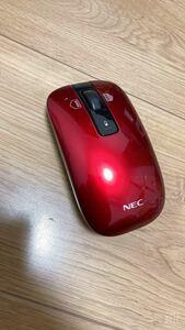 早い者勝ち NECワイヤレスマース ワイヤレスマウス ロジクール レーザーマウス NEC ワイヤレス LaVie レッド 赤