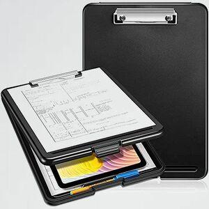 新品 未使用 Palmoo Fincy 6-HL ホルダ- (ブラック) クリップボ-ドフォルダ a4ボ-ド 書類の収納ができる クリップファイル バインダ-