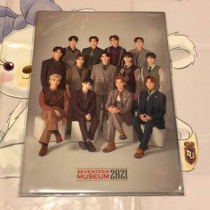 クリアファイル 新品 未開封 2021 museum ミュージアム seventeen svt セブチ 日本 公式グッズ DVD トレカ うちわ ジョンハン ホシ ウジ