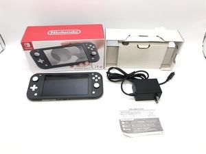 Nintendo Switch Lite/ニンテンドースイッチライト グレー☆良品☆ [296-0716-N2]