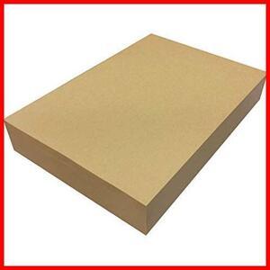 【送料無料】 ★色:500枚★ ブラウン 未晒 500枚 75.5kg コピー用紙 包装紙 A4 ラッピング クラフト紙 ブックカバー ペーパーエントランス