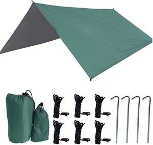 キャンプ テント タープ 防水 UVカット 収納袋付き 2~4人用