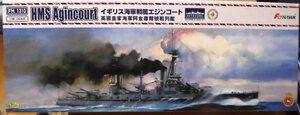 フライホーク 1/700 イギリス海軍戦艦 HMS エジンコート