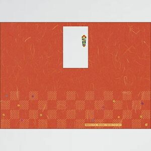 新品 目玉 のし紙 タカ印 7-AQ 100枚 赤 4-71 簡易包装 無字 B4