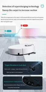 ワイヤレス家庭用掃除機 ロボット ドライクリーニング スマート家電 床掃除 1134