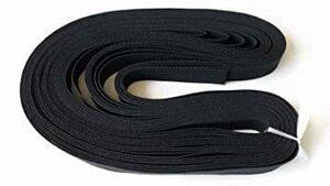 織ゴム 平ゴム 手芸 裁縫 洋裁 ゴム 黒 15mm巾×5m 日本製