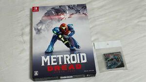 Nintendo switchソフト「メトロイド ドレッド スペシャルエディション」 ゲオ特典 アクリルコースター 付きGEO