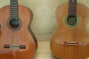 クラシックギター 2点 まとめ カットギター KISO SUZUKI VIOLIN SUZUKI GUITAR 楽器 ギター 弦楽器 ★Zx224