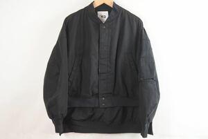 Y-3 ワイスリー ヨウジヤマモト アディダス ボンバージャケット MA-1 クロップド アウター ブラック サイズS ユニ 良好 35685 正規品