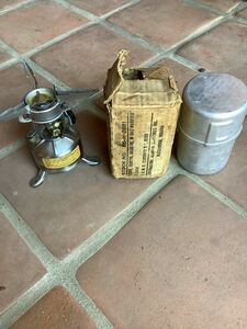 M-1942 stove 1945年製 デッドストック 超希少 コールマン社製 アメリカ軍 WW2 ミリタリー