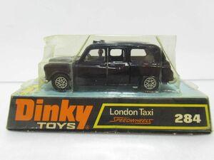 1円~ DINKY TOYS ディンキー トイズ No.248 London Taxi MADE IN ENGLAND SPEEDWHEELS [Dass1017]