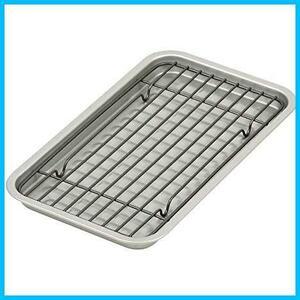 【大幅値引き】 シルバー HB-4511 ふっ素加工オーブントースター用プレート・アミセット 幅24.5cm ベイクウェア パール金属 シルバー